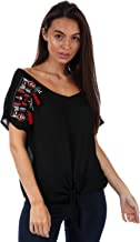 BRAVE SOUL Blouses For Women, Black, Size M (LWV432LENABLK167)
