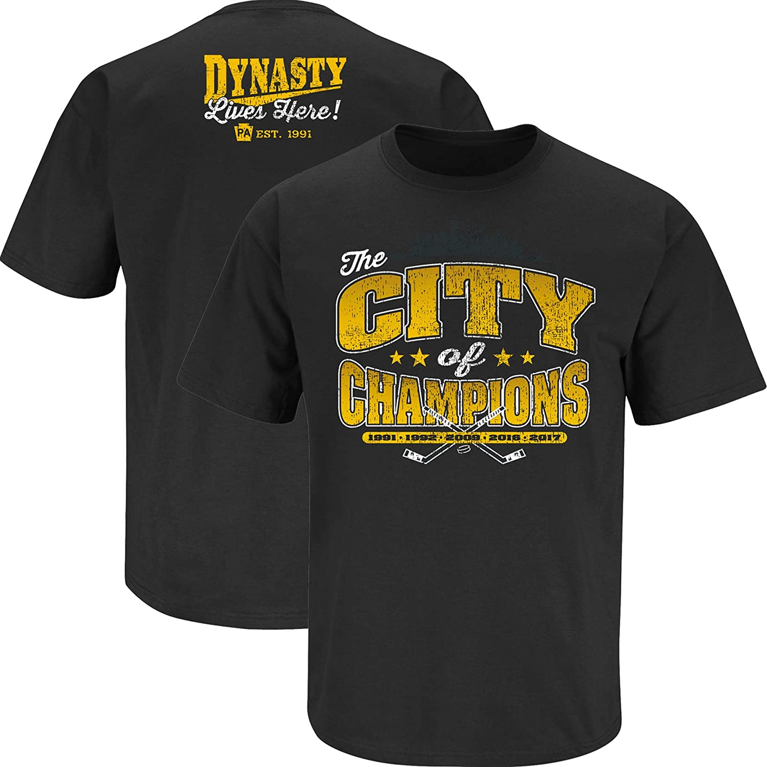 Max 43% OFF Nalie 35% OFF Sports Pittsburgh Hockey Fans. Champions. Black T of City