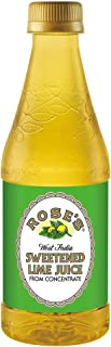 Rose's Sweetened Lime Juice, 12 Fluid Ounce Bottle (Pack of 12)