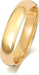 Anello Fede Nuziale Uomo/Donna 4mm in Oro giallo 9k (375) WJS188869KY