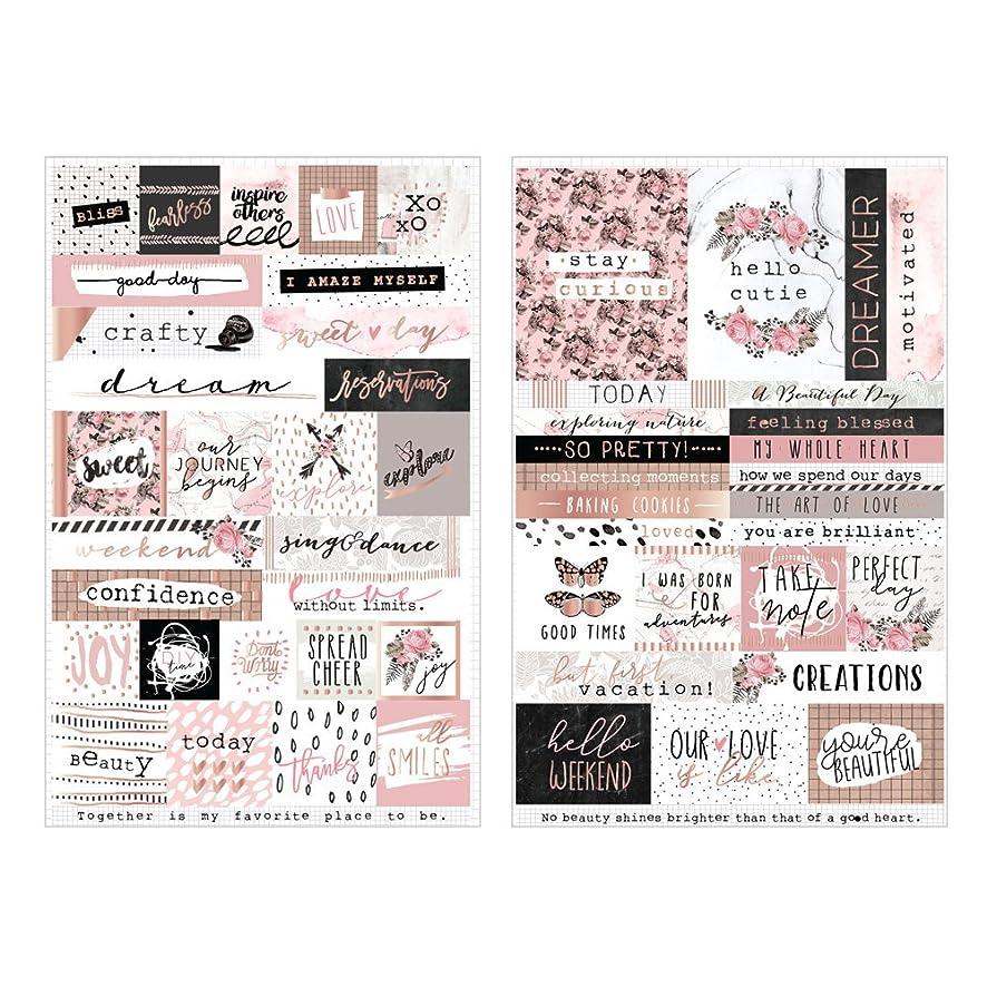 Prima Marketing Amelia Rose - Word & Quote Stickers