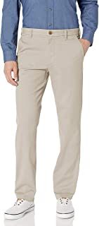 Men's Flat Front Straight Fit Performance Pant