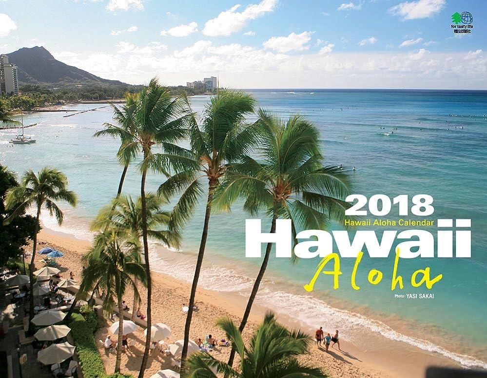 絶滅した太い代わりのカレンダー2018 HAWAII ALOHA (エイ スタイル?カレンダー)