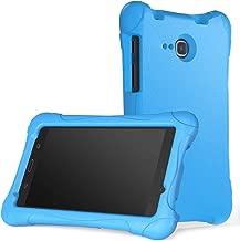MoKo Tab A 7.0 Funda - Ligera Anti-choque Manija Convertible Súper Protectora con Soporte para Samsung Galaxy Tab A 7.0 pulgada (SM-T280 / SM-T285) 2016 de Lazamiento Azul