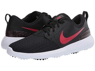 Nike Golf Roshe G (Black/University Red/White) Men