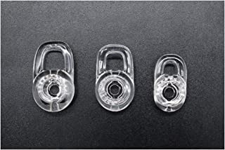 3 Clear Small Medium Large Eargels for PLANTRONICS Discovery 925 975 Wireless Bluetooth Headset Ear Gels Buds Tips Eargel Earbud Eartip Earbuds Eartips Replacement Parts