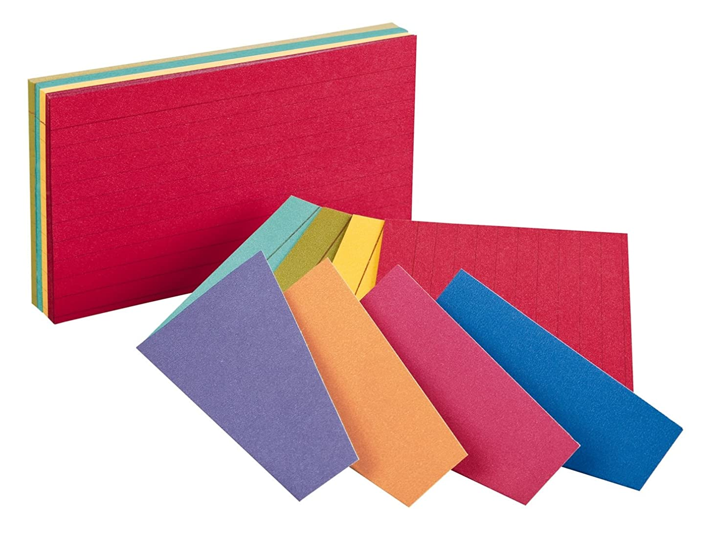 Index Cards,Ruled, 4