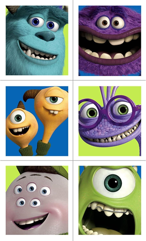 Con precio barato para obtener la mejor marca. Monsters University University University Stickers (4 Sheets)  n ° 1 en línea
