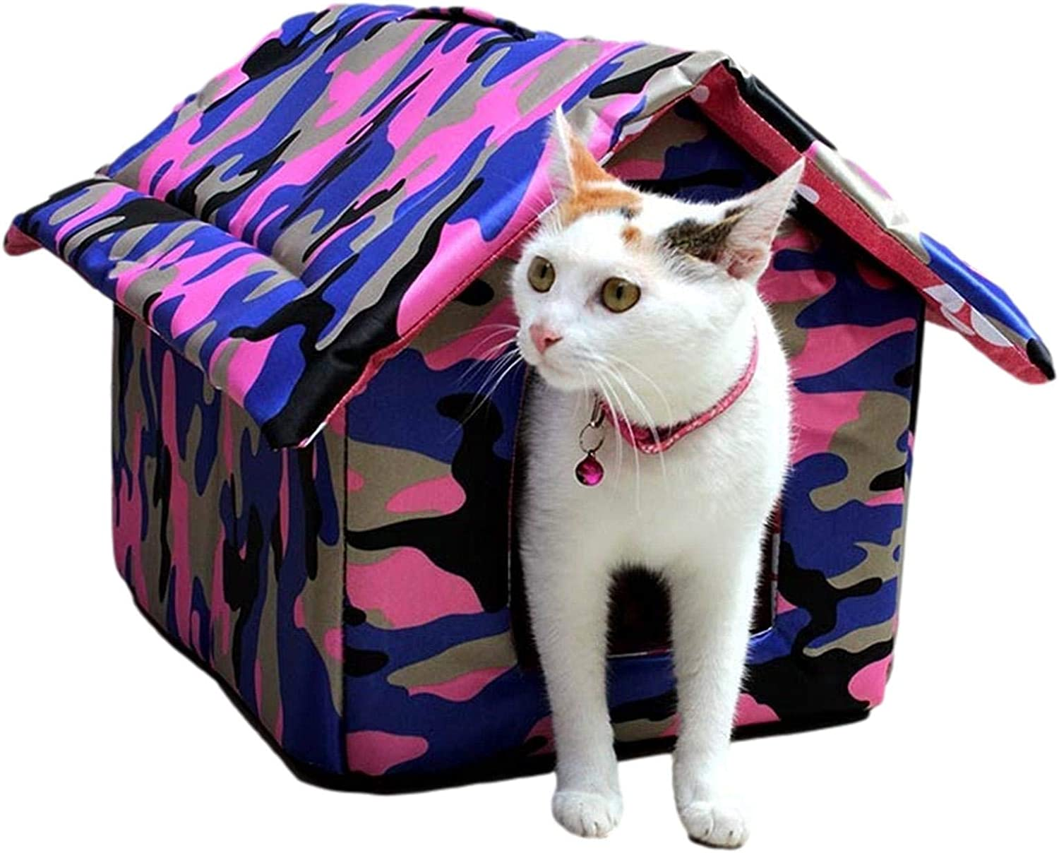 Tavot Safe Warm Waterproof Max 49% OFF Stray Cat Pet - Outdoor Shelter House Fashionable