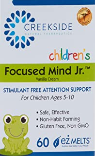 Focused Mind Jr. (EZ Melts) Focus and Memory for Children: with Inositol