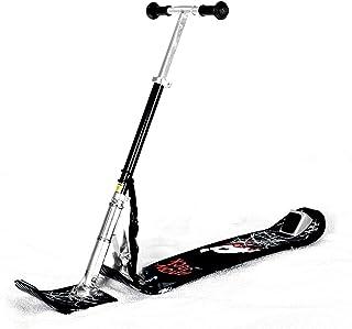 Kids Snow Kick Scooter Ski Seld Fold-Up Snowboard Sledge Folding Sliding Ski Snowboard with Grip Handle Snow Sled Winter T...