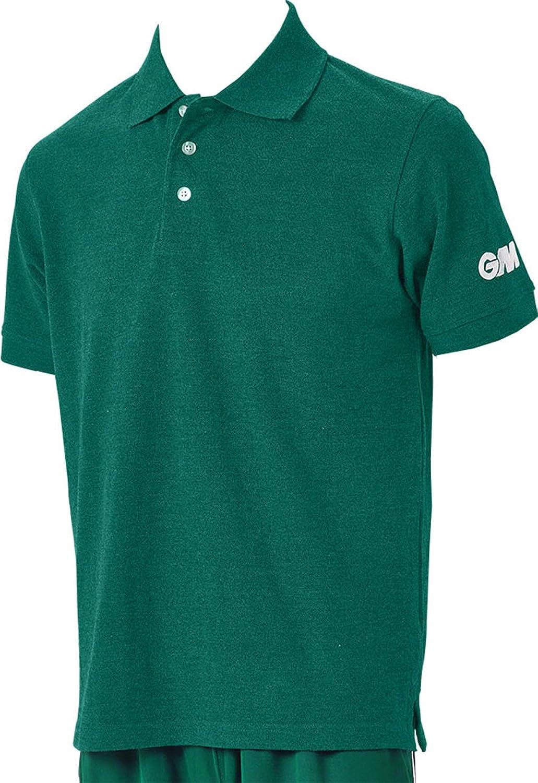Gunn & Moore Performance Cricket Clothing Cotton Cricketers Polo Shirt
