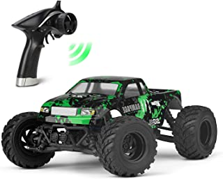 KELIWOW RC Cars 1/18 Scale 30+MPH High Speed 4WD Electric Vehicle,2.4 GHz Remote-Controlled Electric All Terrain Waterproof Vehicles with Rechargeable Battery for Adults RTR