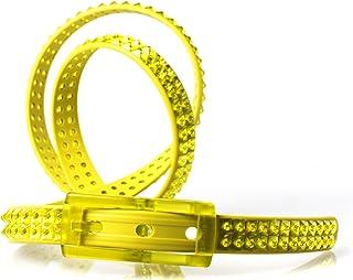 tie-ups - CINTURA IN GOMMA E PLASTICA SLIM GLAMPINS ACIDPIRAMID