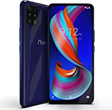 "NUU Mobile G5 4G LTE Unlocked Android Smartphone | 64GB + 4GB RAM | 5000 mAh Battery | 6.55"" HD+ Screen | 16MP Camera | Ul..."