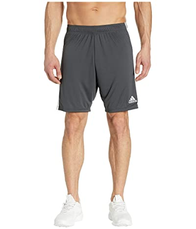 adidas Tastigo 19 Shorts (Dark Grey Heather/White) Men
