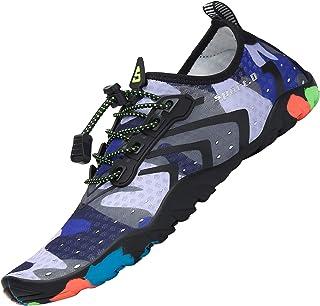 Tmaza Zwemschoenen voor heren, antislip, waterschoenen, strandschoenen, aquaschoenen, surfschoenen, blote voeten, waterspo...