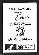 Judi Dench * OLD VIC * John Neville / Barbara Jefford 1959 Philadelphia Playbill