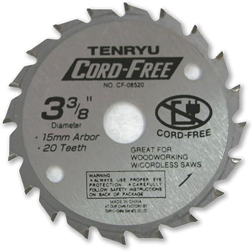 wholesale Tenryu CF-08520 3-3/8 wholesale x 20T x 15mm outlet sale Blade sale