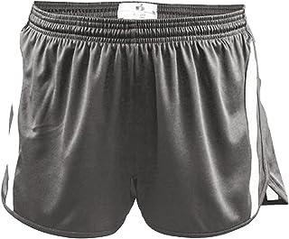 Badger Big Boys Aero Elastic Waistband Shorts Graphite//White Small