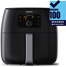Philips Kitchen Appliances Digital Twin TurboStar Airfryer XXL, with Fat Removal..
