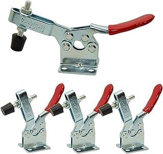 4 Pezzi Toggle Morsetto, Toggle Clamp Morsetti Utensile, Morsetti a Ginocchiera, Utilizzato per Il Funzionamento Della Mac...