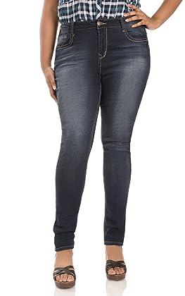 Wallflower Plus Size Basic Legendary Skinny Jeans