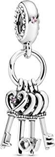 Pandora Women Pandora/797654NPMMX/Charms/Silver, Cubic Zirconia - 797654NPMMX