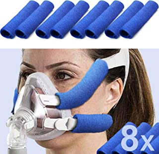 Sponsored Ad - 8 Pack CPAP Headgear Strap Covers, Universal and Reusable CPAP Strap Covers, Soft-Fleece Strap Pads, Reduce...