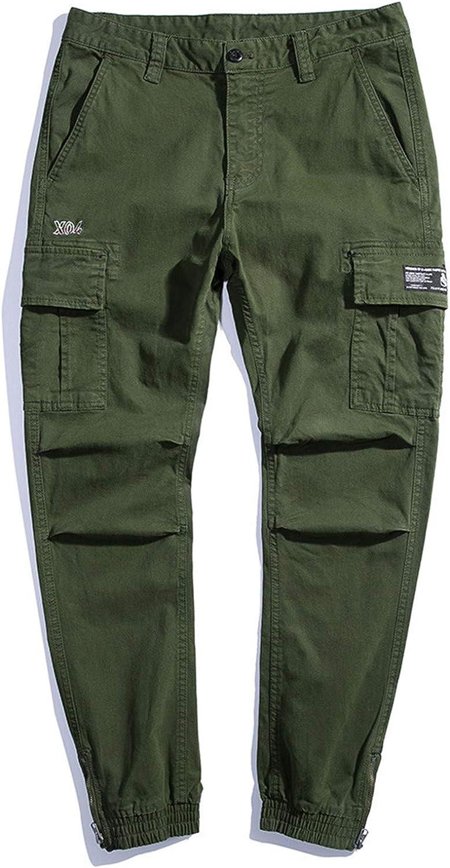 Men's Joggers Military Cargo Pants Spring Autumn Korean Style Ca
