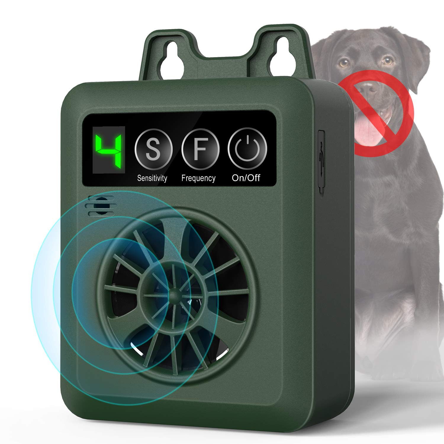 Ultrasonic Deterrent Anti bark Repellent Deterrents