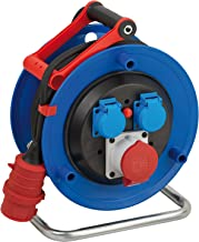 Brennenstuhl 1180941 Enrouleur /électrique Standard SM4 40 m H05VV-F 3G1,5
