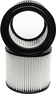 2-Pack Replacement 9039800 Filter 903-98-00 for Shop-Vac - Compatible with Shop-Vac H87S550A, Shop-Vac 90398, Shop-Vac 587-24-62, Shop-Vac E87S450, Shop-Vac 587-04-00, Shop-Vac 286-00-10
