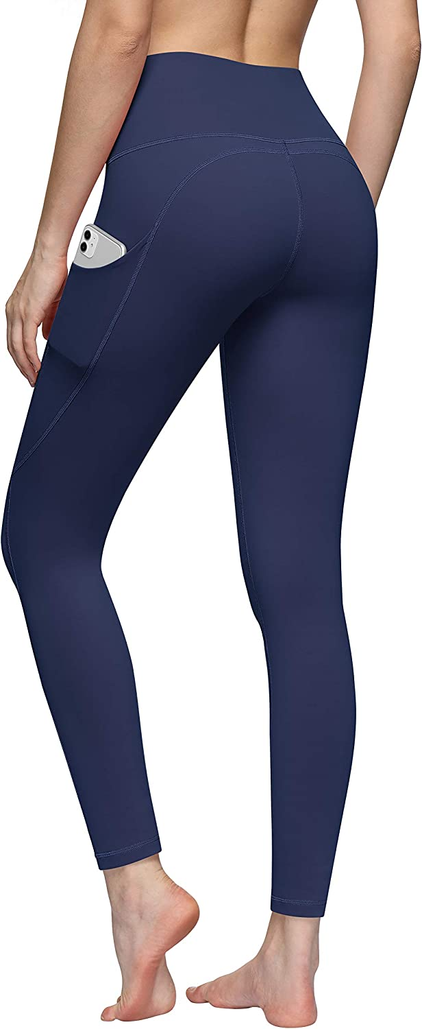 TQD High Waist Yoga Miami Mall Pants for New Free Shipping Running Workout Women Pockets Cap