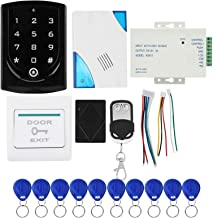 Access Control Kit, System Button 10keyfobs Power Control Access Remote Access Control System, for Commercial Housing Ware...
