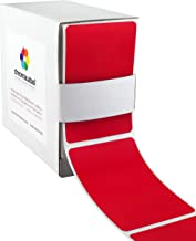 ChromaLabel 2 x 3 inch Color-Code Labels   250/Dispenser Box (Red)