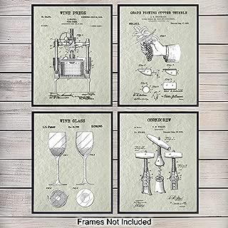 Best retro wine poster Reviews