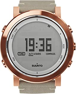 Men's Essential SS022441000 Copper Leather Swiss Quartz Watch