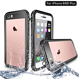 95e56bbfeb5 NewTsie Funda iPhone 6 Plus, Funda iPhone 6s Plus, Anti-rasguños  Impermeable Carcasa