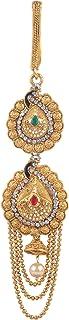 Amazon Brand - Anarva CZ Crystal Kamarband Kamarpatta Saree Belt Waist Chain for Women