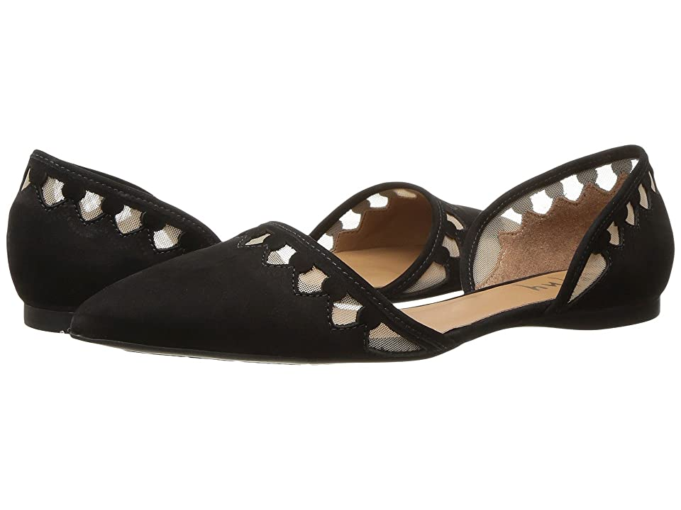 French Sole Volt (Black Nubuck) Women