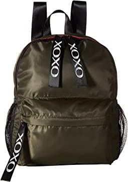 Nylon Backpack w/ Logo Webbing