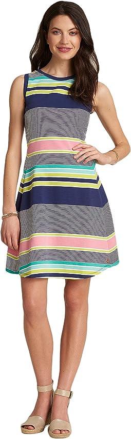 Sarah Dress - Gradient Stripes