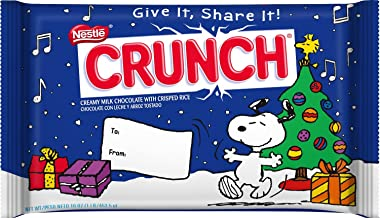 Nestle Crunch Giant Giftable Holiday Bar, 1 Lb.(pack of 2 Bars)
