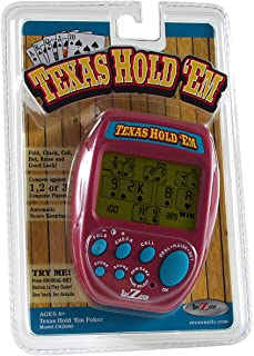 TEXAS HOLD 'EM POKER Handheld Game (With Automatic Score Keeping)NEW IN PACKAGE!
