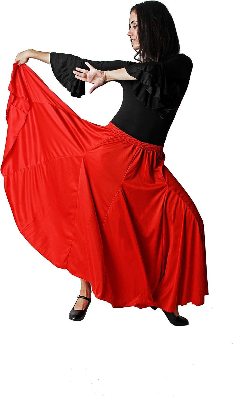 Falda de quilla roja//Falda de ensayo sin Volante para Mujer Adulta Tallas Diferentes Costumizate