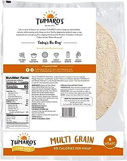 Tumaros Wrap Low Carb Multi Grain, 8 ct