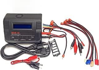 ProLead RC B680AC AIR Dual Power (6Amps, 80Watts): LiPo, LiIon, Life, NiCd, NiMh AC/DC Balancing Battery Charger w/ Deans T-Plug, EC3/EC-3, XT60/XT-60, HXT3.5mm Bullet Walkera, Tamiya Mini Plugs