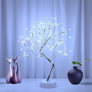 LEIGINAL 108 LED Bonsai Tree Night Lights, 20