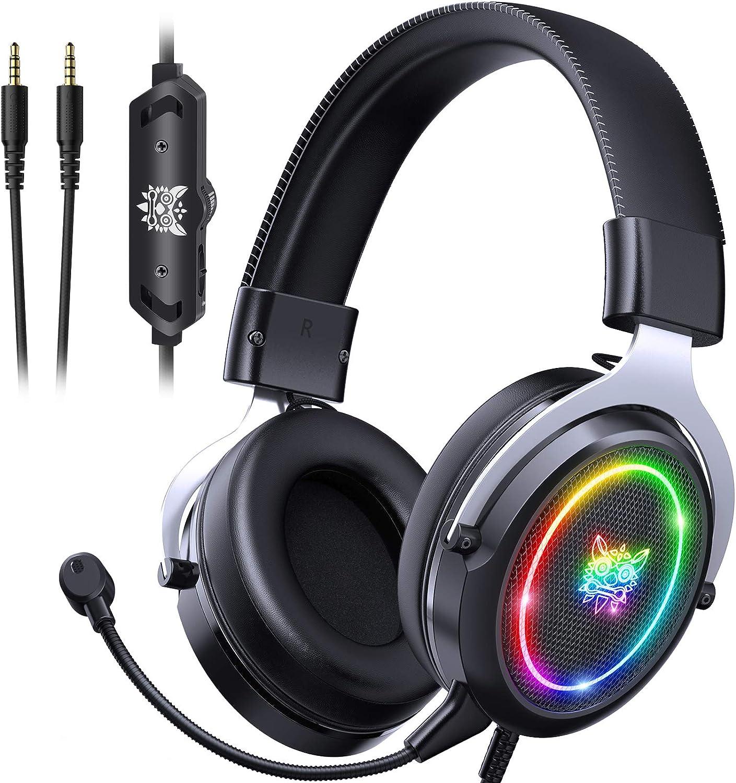 ONIKUMA Gaming Headset Credence Elegant PS5 Noise PS4 Canceling